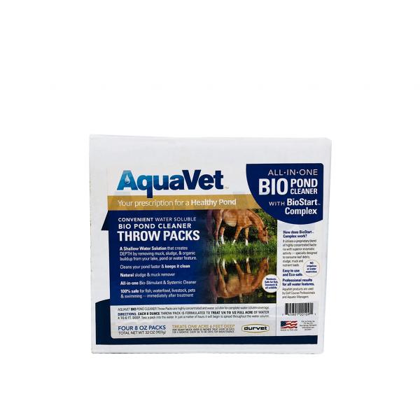 AquaVet Bio Pond and Septic Cleaner Throw-Packs